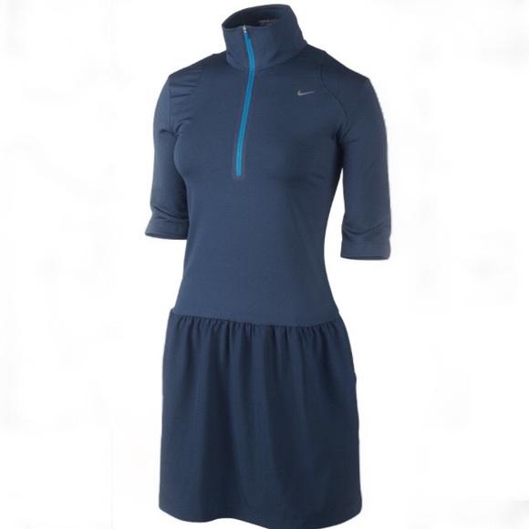 Nike Dresses & Skirts - Nike golf dri-fit blue dress